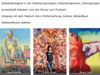 Lernziele und Künstlerinneninspirationen